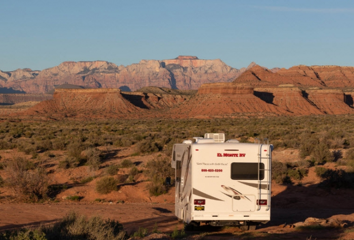 El Monte RV in Zion