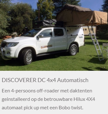 Discoverer DC 4x4 automaat