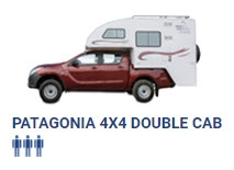 Patagonia 4x4 dubbele cabine