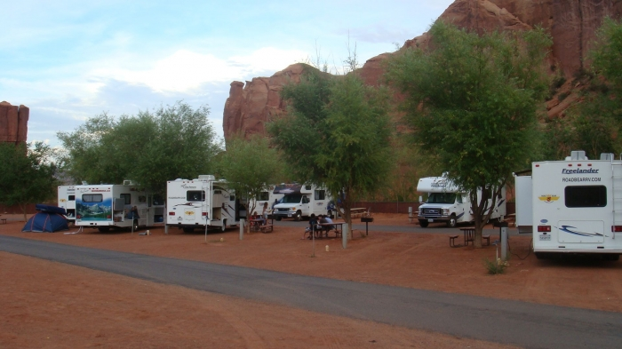 RV park Monument Valley